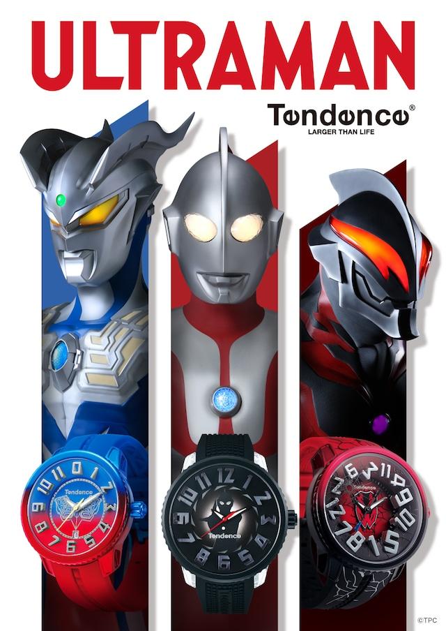 【Tendence テンデンス】TY532010 初代ウルトラマンモデルFLASH/国内正規品 腕時計