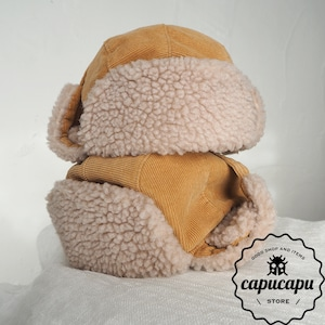 «sold out» フライトキャップ flight cap Beige