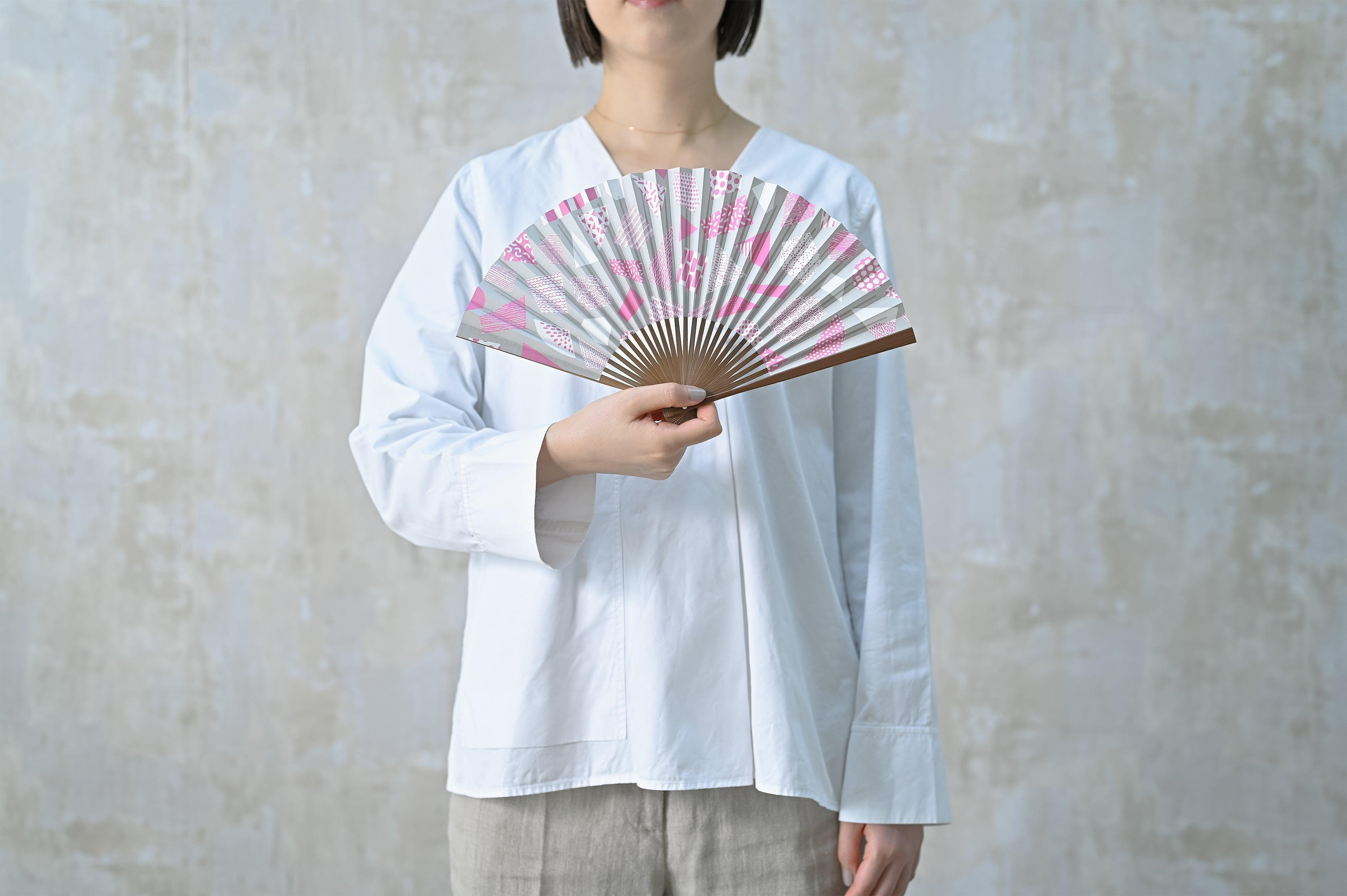 [Women's] UMO#1 紅紫 Benimurasaki 扇子