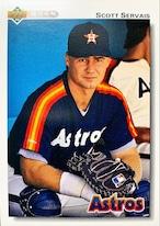 MLBカード 92UPPERDECK Scott Servais #561 ASTROS