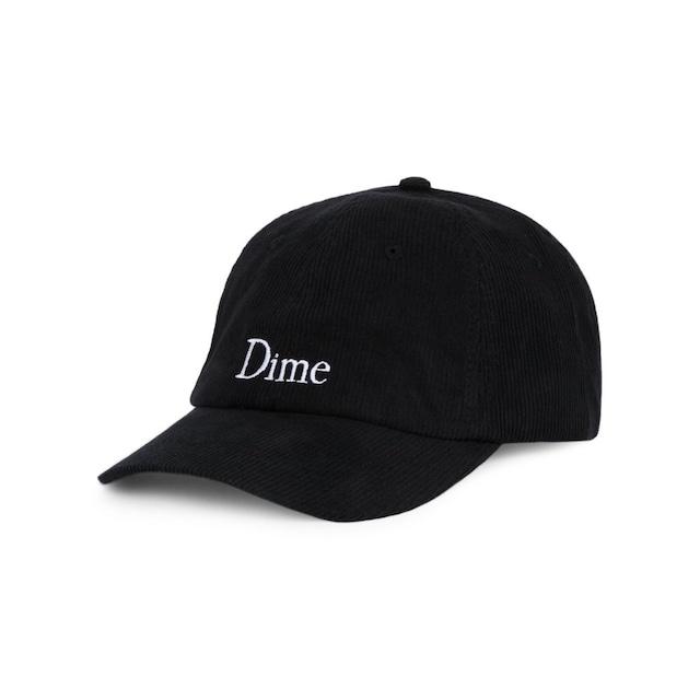 DIME CLASSIC CORDUROY CAP BLACK