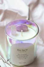 SELF LOVE CRYSTAL CANDLE - Golden Hour -
