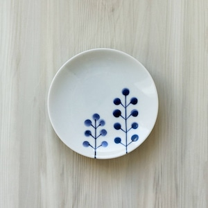 波佐見焼 WAZAN 和山窯 flowers 小皿 ドットツリー 385780
