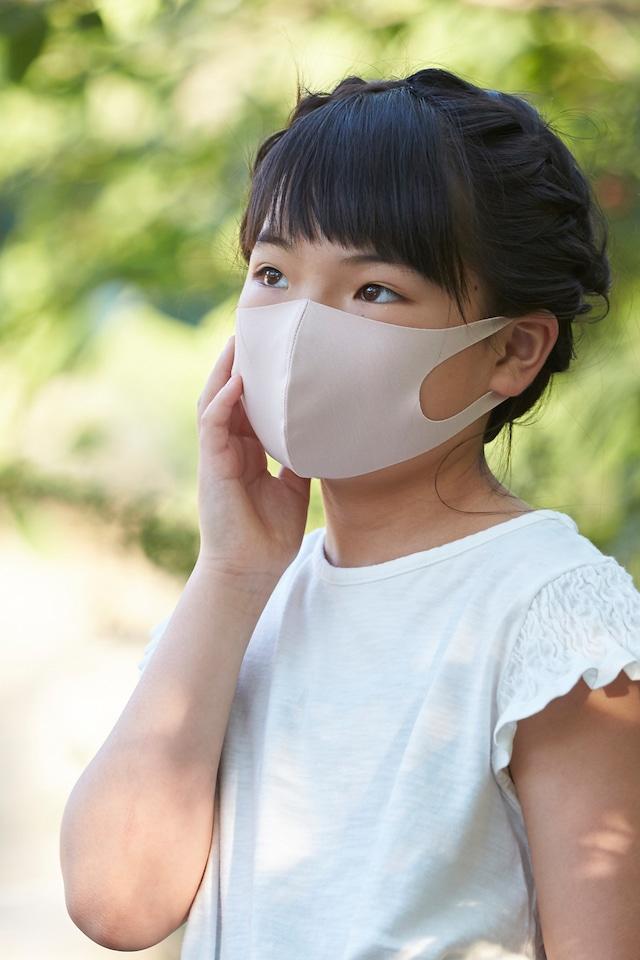 「さらピッタ」® SSサイズマスク  無地2枚セット 接触冷感・UVカット・吸汗速乾 #108