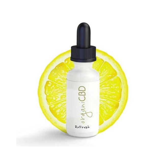 【送料無料】オルガニCBD(OrganiCBD) - CBDオイル1,000mg/30ml:レモン