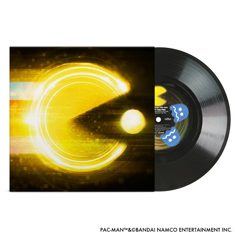 JOIN THE PAC - KEN ISHII feat. PAC-MAN【7inch EP】 - 画像3