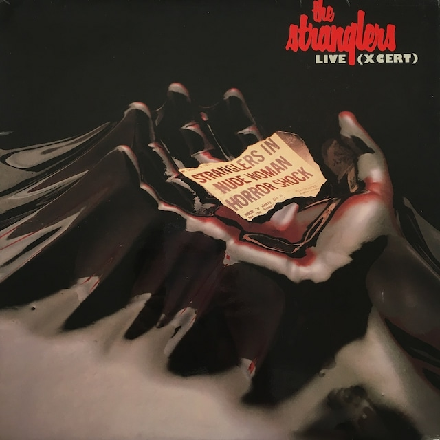 【LP・英盤】The Stranglers  /  Live (X Cert)