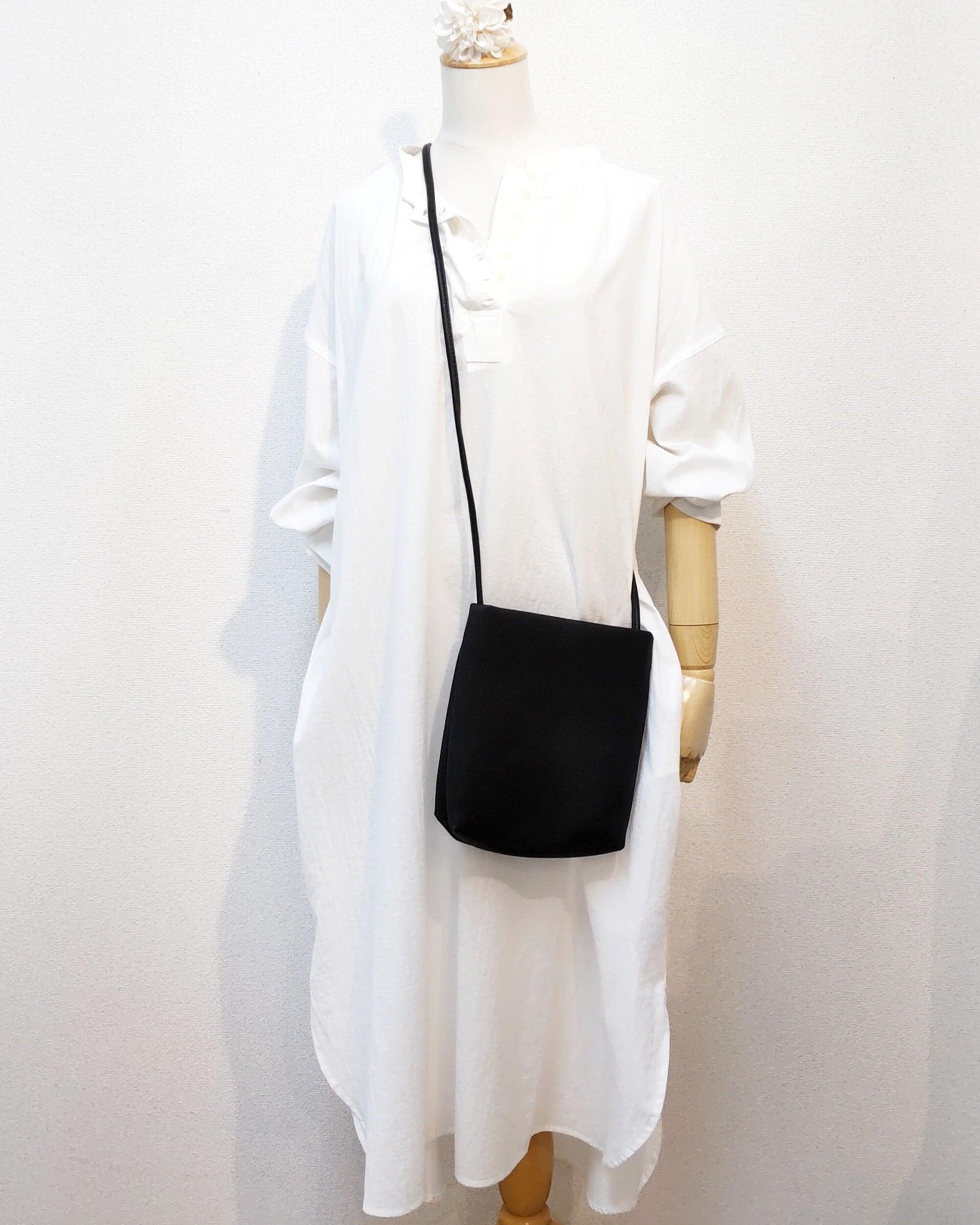 【SALE】cotton shirt one-piece  <white>