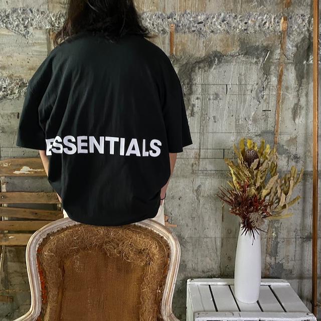 ESSENTIALS【エッセンシャルズ】Boxy T-shirt (BLACK).