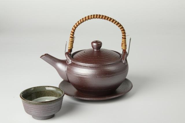南蛮鉄鉢型土瓶蒸し 萬古焼
