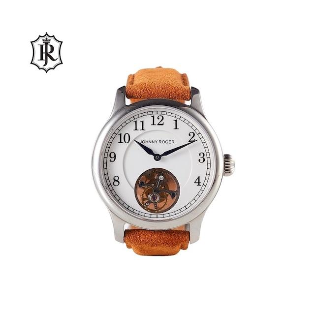 JOHNNYROGER メンズ 腕時計 フライングトゥールビヨン Tourbillon Ceramique