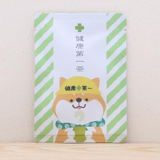 健康第一茶(柴犬さん)|健康祈願|ごあいさつ茶