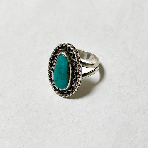 Vintage Navajo Turquoise Ring ②