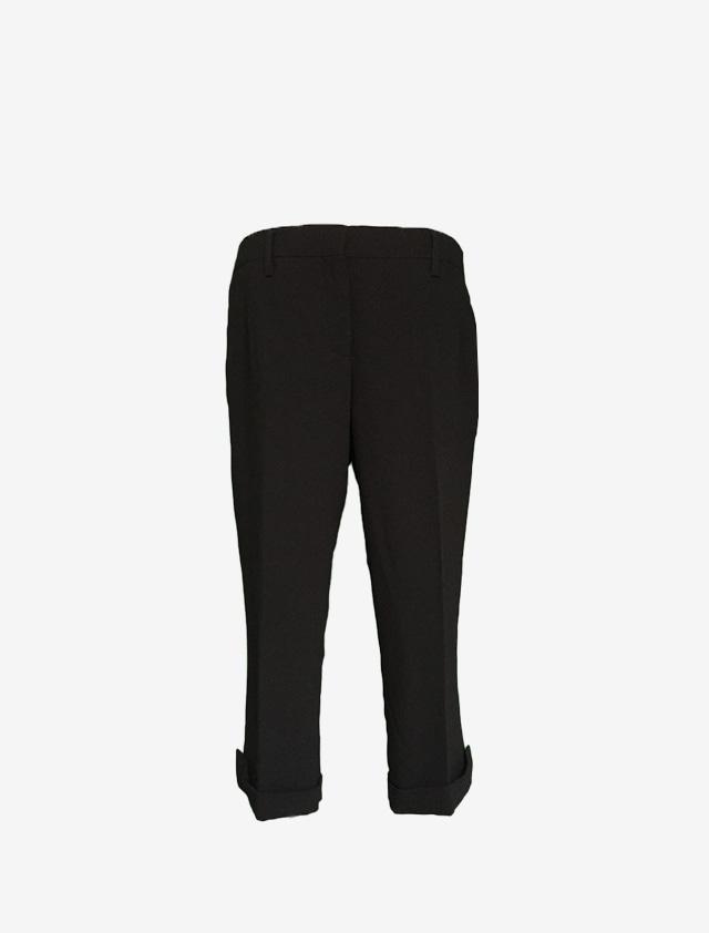 PRADA プラダ 7分丈 ブラック パンツ