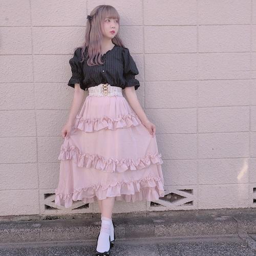 Princess frill skirt