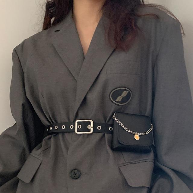 【DUILIANGPINシリーズ】★ベルト+バッグ★ 2点セット 小物 アクセサリー シャツ ズボン ワンピース 合わせやすい