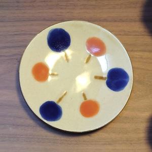 ふわり 5寸皿