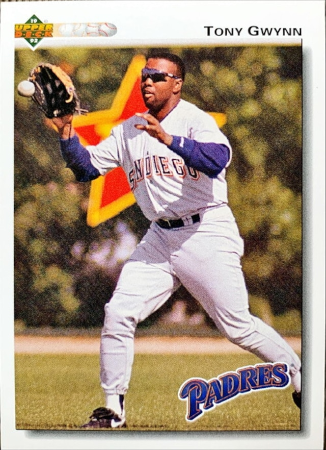MLBカード 92UPPERDECK Tony Gwynn #274 PADRES