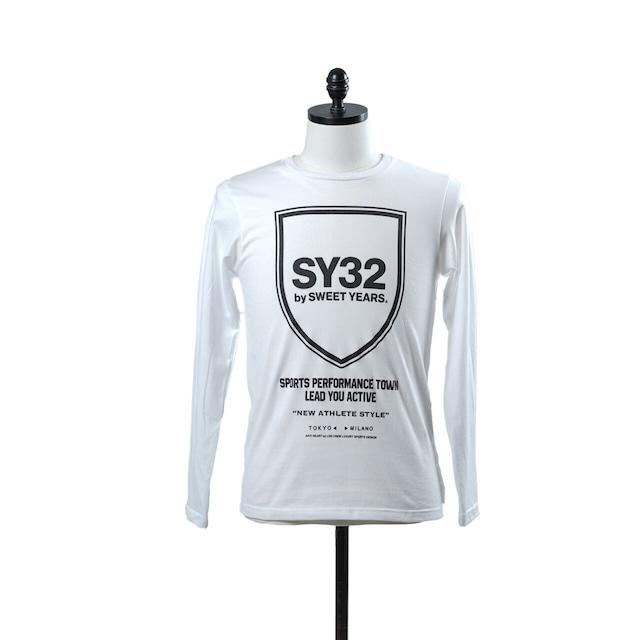SY32 SHIELD EMBLEM L/S TEE (10814)