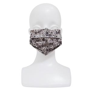 【アップマークサム】いつものマスク姿がオシャレに変身!不織布マスクカバー naamio 【フラワーセピア】&クレンゼマスクカバー(一般サイズ)セット