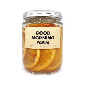 ブラッドオレンジシロップ煮