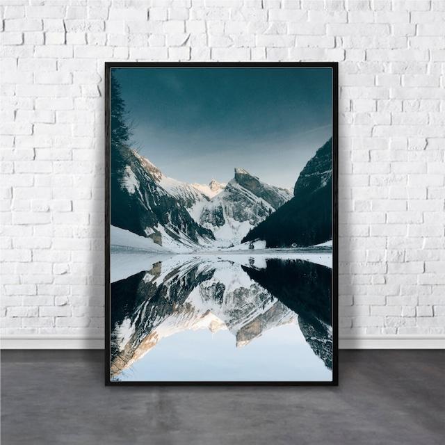 Beautiful mountains【アートポスター専門店 Aroma of Paris】[AP-000393]
