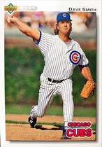MLBカード 92UPPERDECK Dave Smith #549 CUBS