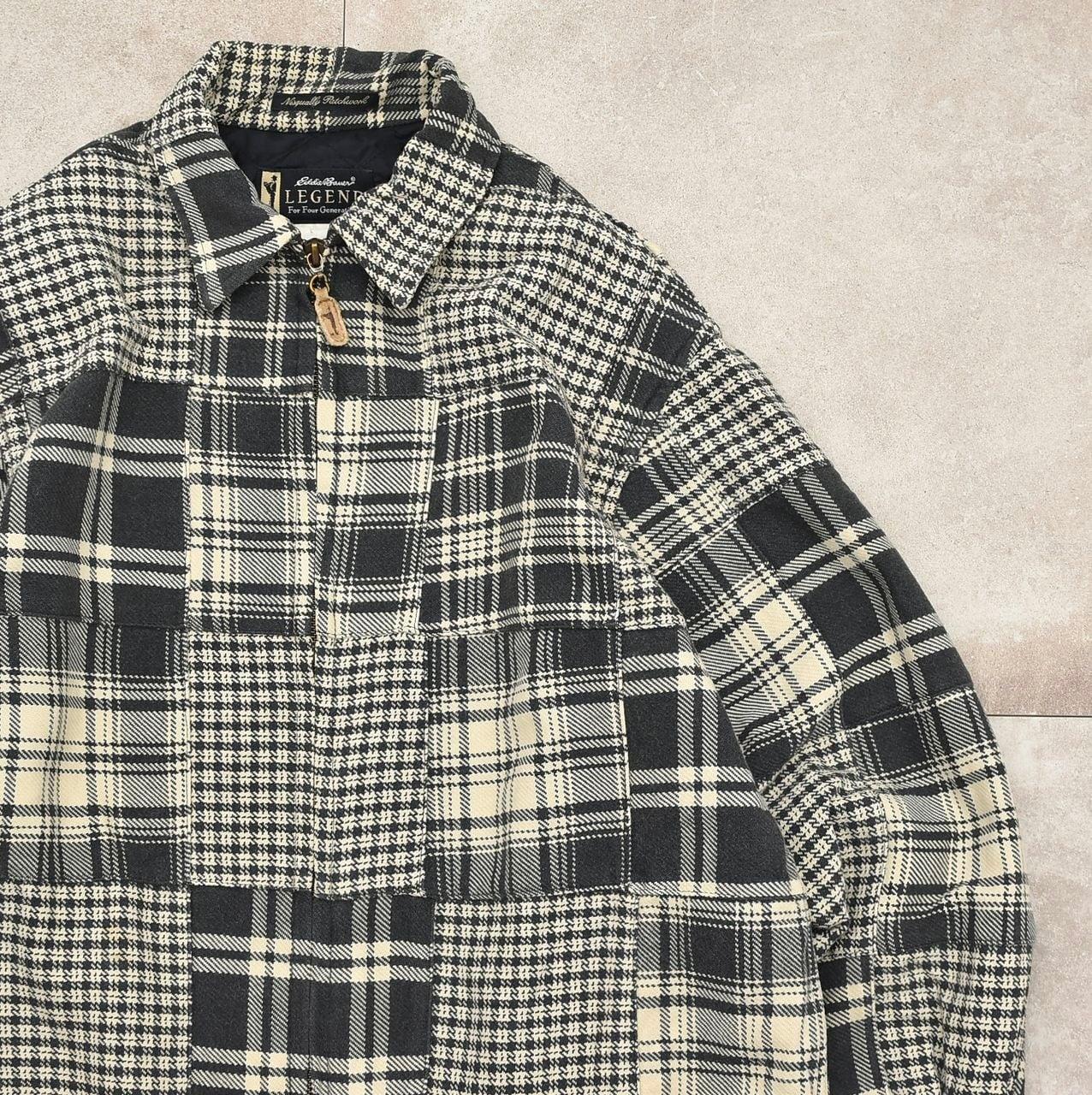 Eddie Bower LEGEND patchwork check jacket