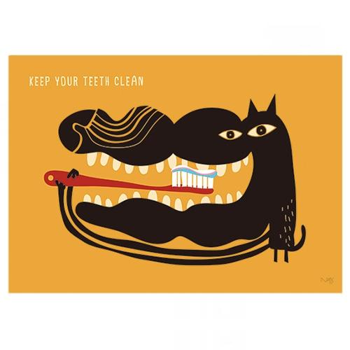 Clean Dog B3ポスター