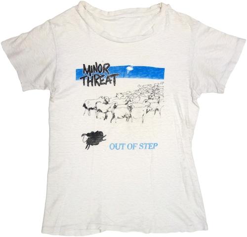 80年代 マイナー・スレット バンド Tシャツ | MINOR THREAT イアン・マッケイ ヴィンテージ 古着