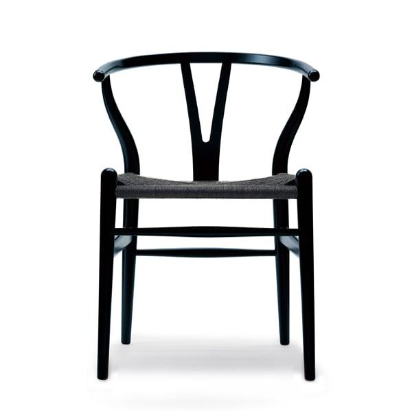 CH24 Yチェア アッシュ ブラック ペーパーコード(ブラック塗装)[カールハンセン&サン]