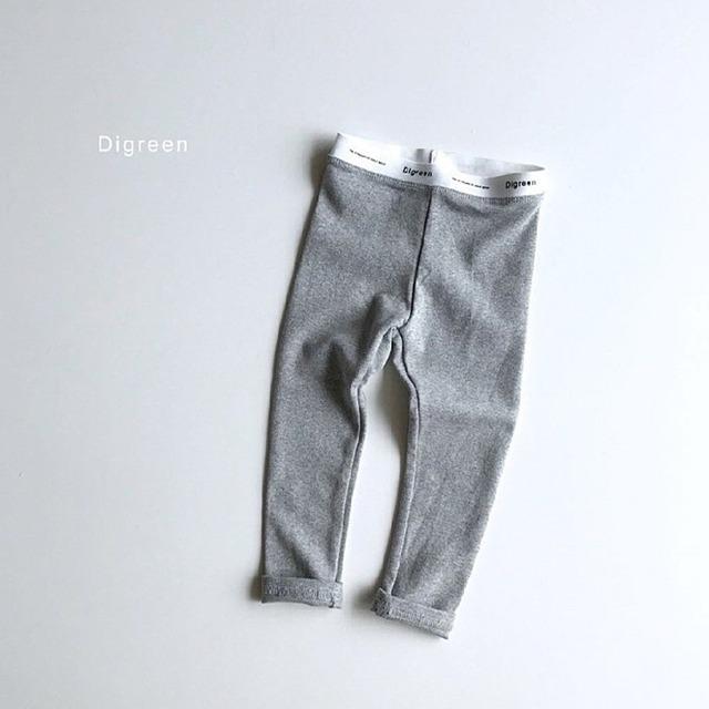 定番コットンレギンス [gray]