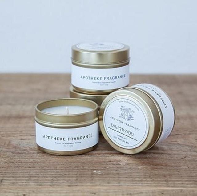 Apotheke Fragrance (アポテーケ フレグランス) TIN CANDLE (ティンキャンドル) アロマキャンドル