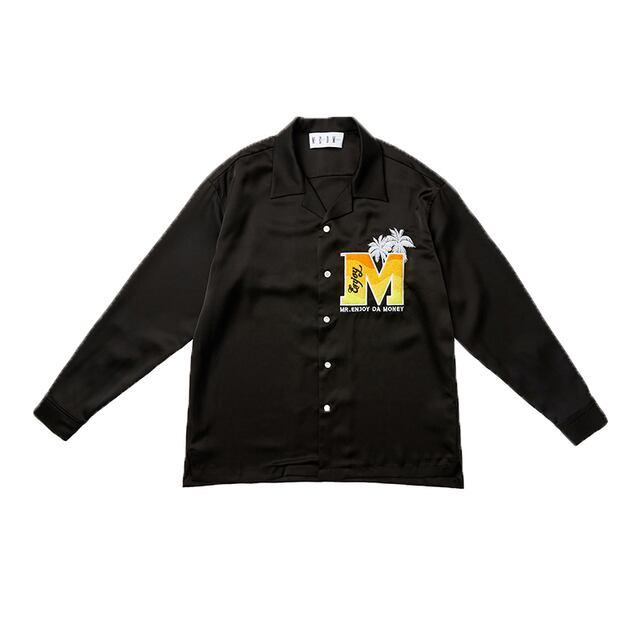 【MEDM】パームツリーキューバシャツ