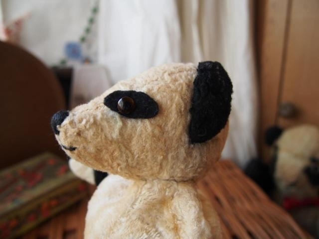 イギリスアンティーク パンダのパペット