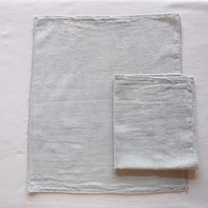 Pour moi  Moon Cloth #blue inner cloth | オーガニックコットン 布ナプキン 中布2枚組