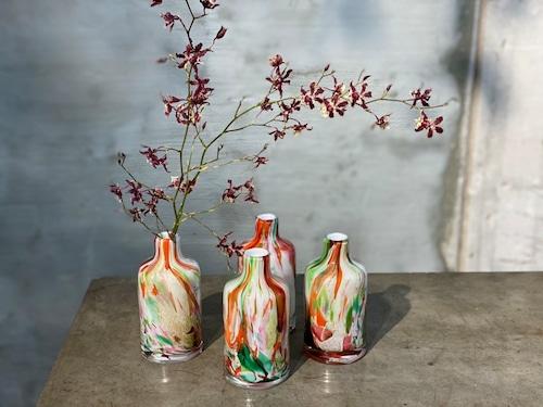 マーブル花瓶