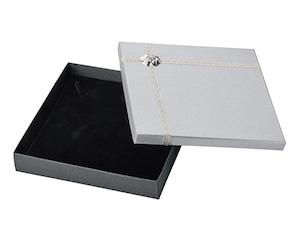ネックレス・オメガネック用紙箱 ギフトリボン付き 10個入り AR-N268