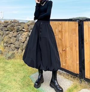 Aラインボリュームスカート   1-412
