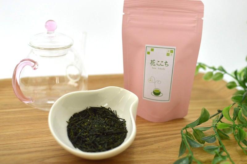 花ここち リーフ 30g/袋入り   【香り緑茶/牧之原産】