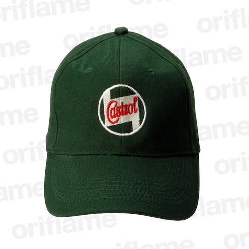ベースボール キャップ・カストロール・クラシックオイル・ロゴ