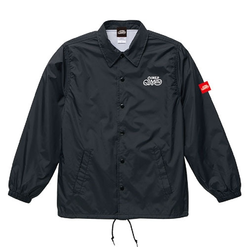 ナイロンコーチジャケット / ブラック   SINE METU - シネメトゥ