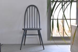 ercol quaker chair (original gray painted)