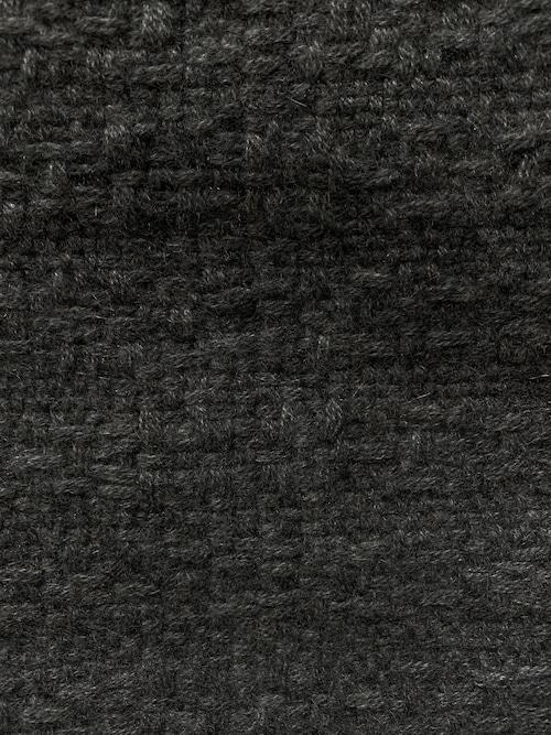 ロング型 スーパーソフト カシミアストール  チャコルグレー Nine Iron