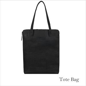 VEGAN CORK TOTE BAG  BLACK / トートバッグ コルク製 ブラック