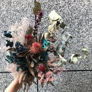 Dryflower bouquet  スワッグ