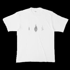 ドライフラワー Tシャツ