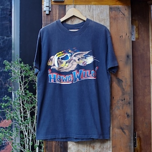 "1980s Harley Davidson Vintage T-Shirt / ハーレー ヴィンテージ Tシャツ ""HAWG WILD"""