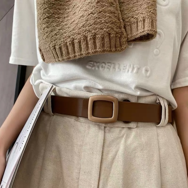 rounded rectangle belt 3c's