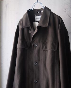 charcoal gray autumn jacket